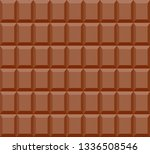 seamless pattern of chocolate...   Shutterstock .eps vector #1336508546