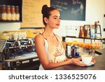 the coffee that inspires.... | Shutterstock . vector #1336525076