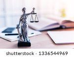 Lady Justice Statue In Law Fir...