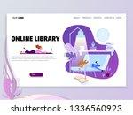 landing page or website... | Shutterstock .eps vector #1336560923