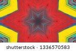 geometric design  isometric... | Shutterstock .eps vector #1336570583