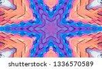geometric design  isometric... | Shutterstock .eps vector #1336570589
