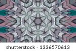 geometric design  isometric... | Shutterstock .eps vector #1336570613