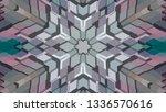 geometric design  isometric... | Shutterstock .eps vector #1336570616