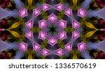 geometric design  isometric... | Shutterstock .eps vector #1336570619