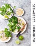 vegetarian traditional... | Shutterstock . vector #1336594880