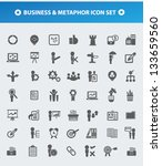business and metaphor human... | Shutterstock .eps vector #133659560