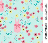 seamless pattern background... | Shutterstock .eps vector #1336604603