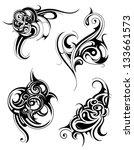 tribal art   Shutterstock .eps vector #133661573