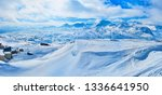 Dachstein Alps are perfect place to spend winter vacation, enjoying skiing, boarding, snowshoeing and other sports and extreme activities in outstanding resorts of Salzkammergut, Austria.