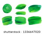 vector green acrilic natural ... | Shutterstock .eps vector #1336647020