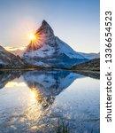 Riffelsee And Matterhorn...
