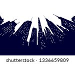 night modern city street low... | Shutterstock . vector #1336659809