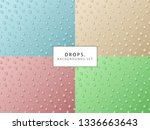 a set of backgrounds in a...   Shutterstock .eps vector #1336663643
