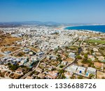 aerial drone view of lagos...   Shutterstock . vector #1336688726