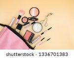 flat lay composition with... | Shutterstock . vector #1336701383
