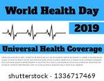 world health day  universal... | Shutterstock .eps vector #1336717469