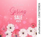 spring season background with...   Shutterstock .eps vector #1336720826