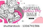 modern template design for mom... | Shutterstock .eps vector #1336741586