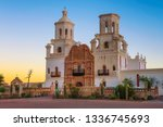 Sunrise At The San Xavier...