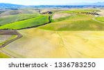 drone view of tuscany... | Shutterstock . vector #1336783250