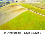 drone view of tuscany... | Shutterstock . vector #1336783253
