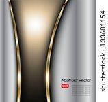 abstract background elegant... | Shutterstock .eps vector #133681154
