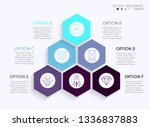 vector info graphics for your... | Shutterstock .eps vector #1336837883