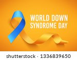 world down syndrome day. march... | Shutterstock .eps vector #1336839650