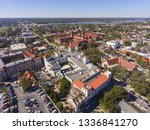 aerial view of ponce de leon... | Shutterstock . vector #1336841270