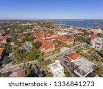 aerial view of ponce de leon... | Shutterstock . vector #1336841273
