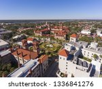 aerial view of ponce de leon... | Shutterstock . vector #1336841276