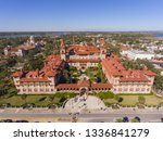 aerial view of ponce de leon... | Shutterstock . vector #1336841279