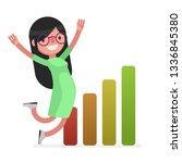 business people vector... | Shutterstock .eps vector #1336845380
