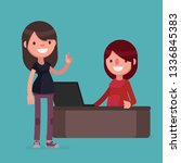 business people vector... | Shutterstock .eps vector #1336845383