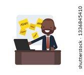 business people vector... | Shutterstock .eps vector #1336845410