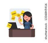 business people vector... | Shutterstock .eps vector #1336845416