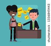 business people vector...   Shutterstock .eps vector #1336845443