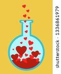 love science tube  chemistry... | Shutterstock .eps vector #1336861979