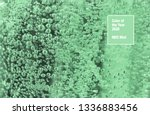 neo mint colors air bubbles in... | Shutterstock . vector #1336883456