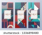 design templates for flyers ... | Shutterstock .eps vector #1336898480