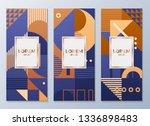 design templates for flyers ... | Shutterstock .eps vector #1336898483