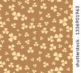 bright beige seamless pattern... | Shutterstock . vector #1336901963