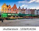 Bruges  Belgium. Grote Markt...