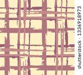 tartan. grunge stripes.... | Shutterstock .eps vector #1336918973