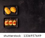 lunch at lunch boxes | Shutterstock . vector #1336957649