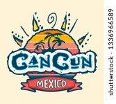 Cancun Mexico Vector Icon ...