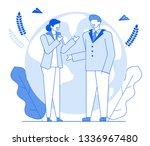 modern cartoon flat characters... | Shutterstock .eps vector #1336967480