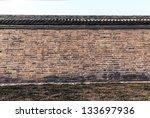 Wall  Forbidden City. China.