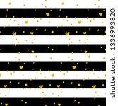 black gold striped seamless... | Shutterstock .eps vector #1336993820